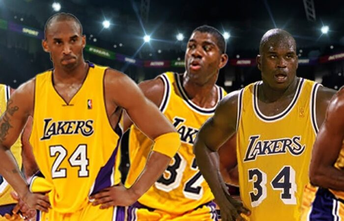Kobe, Magic et Shaq chez les Lakers