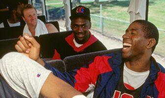 Larry Bird, Magic Johnson, Michael Jordan