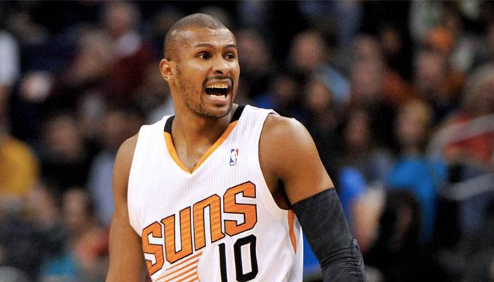 Leandro Barbosa sous le maillot des Phoenix Suns