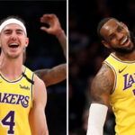 NBA – Alex Caruso sort une phrase culte sur LeBron… et commente leur record historique