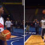 NBA – Le move inédit que LeBron perfectionnait avec Team USA