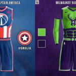 NBA – Les maillots des franchises revisités « movies » (partie 2)