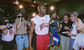 Michael Jordan des Bulls