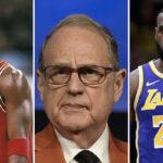 NBA – Jerry Reinsdorf s'emporte sur le débat Jordan vs LeBron