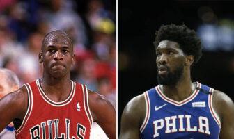 Michael Jordan et Joel Embiid