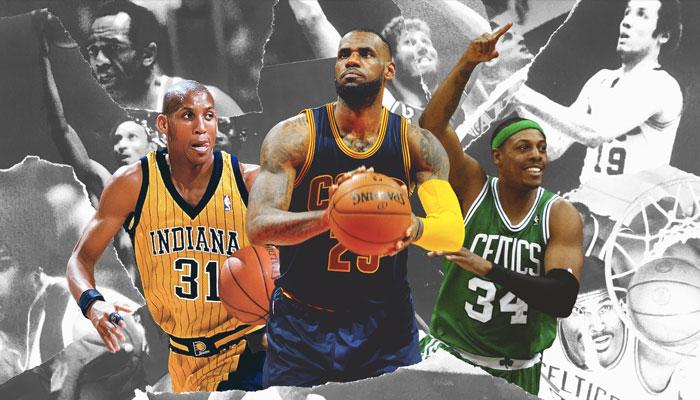Meilleur 5 all-time franchises conference Est
