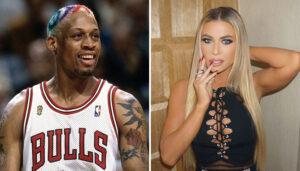 NBA – Qui est Carmen Electra, la sulfureuse partenaire de Dennis Rodman  ?