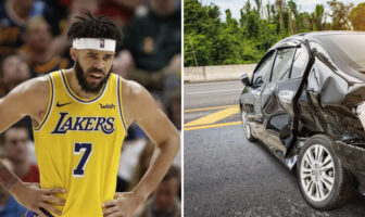JaVale McGee accident de voiture avec Nick Young