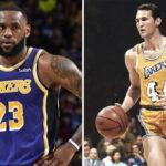 NBA – LeBron prédit les stats de Jerry West s'il jouait dans la ligue actuelle