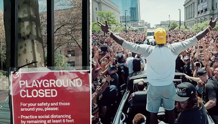 LeBron James Nike campagne