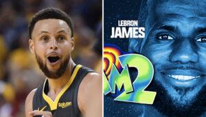 NBA – La réaction hypée de Steph Curry au trailer de Space Jam 2