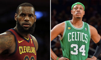 LeBron James Paul Pierce Beef