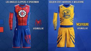 NBA – Les maillots des franchises revisités « movies » (partie 1)
