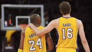 NBA – Pau Gasol encore ultra-touchant avec la famille Bryant