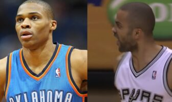 Russell Westbrook et Tony Parker