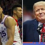 NBA – Ben Simmons s'emporte et attaque Donald Trump