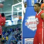 NBA/HS – L'incroyable Dunk Contest de Donovan Mitchell et Derrick Jones Jr au lycée !