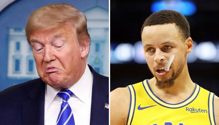Stephen Curry a eu un chant ouvertement anti Donald Trump