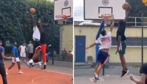 NBA – Un playground parisien s'enflamme : les médias US relaient, Frank réagit !