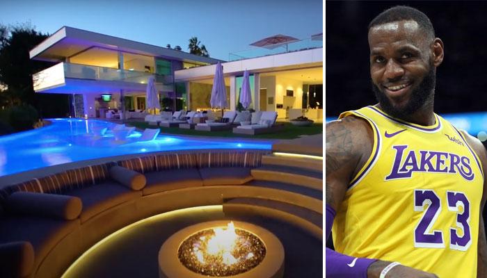 La nouvelle maison de LeBron James coute 52 millions de dollars !