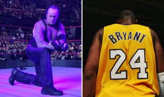 The Undertaker a rendu un hommage inattendu à Kobe Bryant