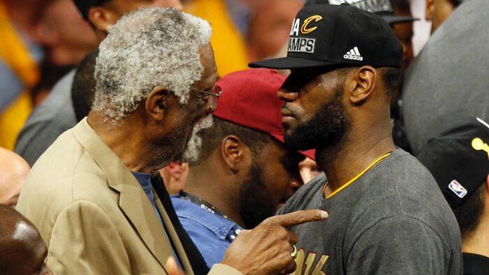 Bill Russell et LeBron James