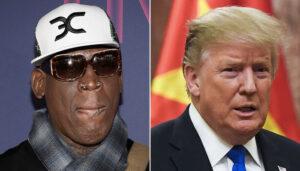NBA – La réponse astucieuse de Dennis Rodman à Donald Trump