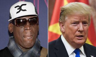 Dennis Rodman et Donald Trump