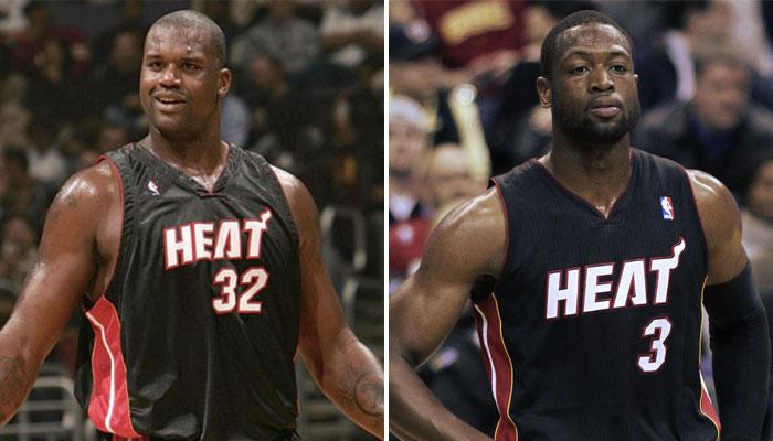 Dwyane Wade Shaquille O'Neal Miami Heat