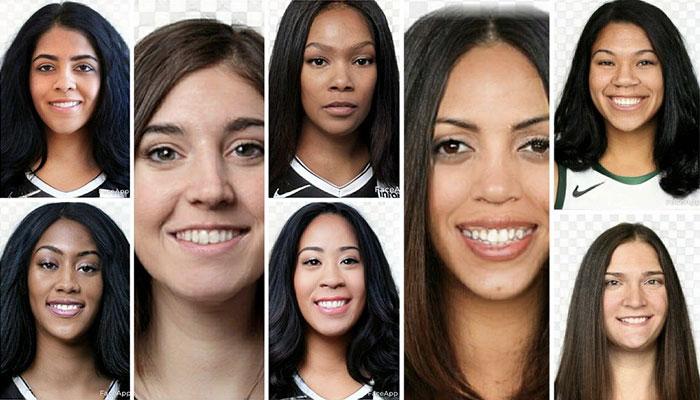 Un internaute transforment tous les joueurs... en femmes ! (conf. Est)