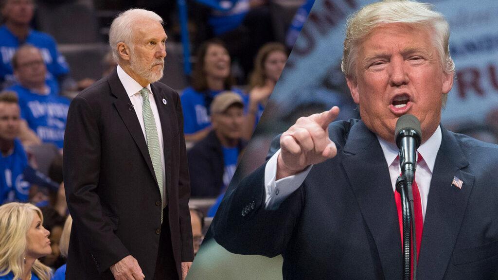 Gregg Popovich dégomme à son tour Donald Trump