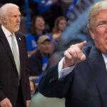 NBA – Gregg Popovich imite et trolle… Donald Trump