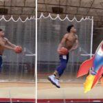 NBA – « Baby Westbrook » balance un dunk-fusée de folie !
