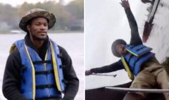 En 2017, la séquence hilarante de Jimmy Butler... en galère sur un canoë