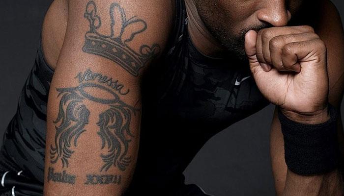 Kobe Bryant: découvrez la signification de chacun de ses tatouages