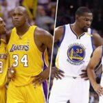 NBA – « Les Warriors de KD et Curry étaient bien moins dominants que les Lakers de Kobe et Shaq »