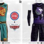 NBA – Un designer imagine les maillots des franchises version Disney !