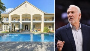 NBA – Le détail qui tue dans la maison à 4.5 millions $ de Gregg Popovich