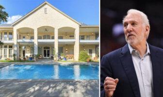 La maison à 4.5 millions de $ de Gregg Popovich que personne ne veut acheter