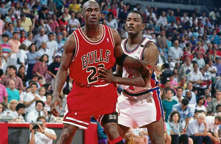 Michael Jordan et Joe Dumars