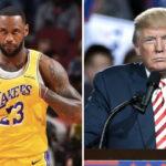 NBA – LeBron James parle de son embrouille avec Donald Trump