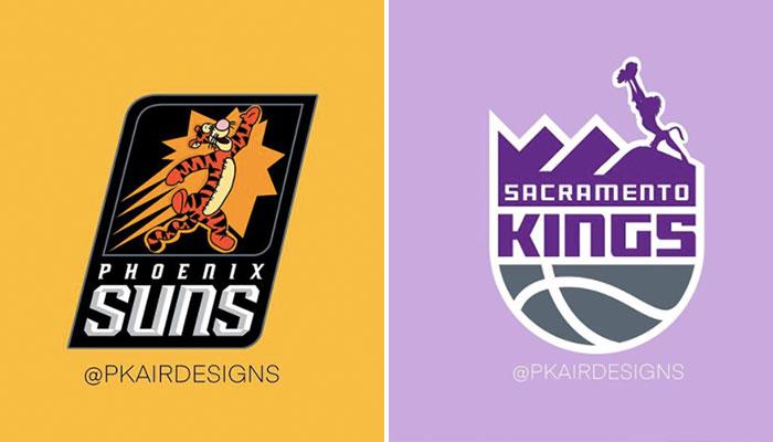 Logos NBA Disney