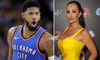 Paul George et Lisa Ann