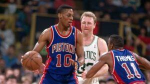 NBA – Quand Larry Bird était victime d'une attaque raciale de Rodman et Isiah
