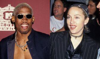 Dennis Rodman et Madonna
