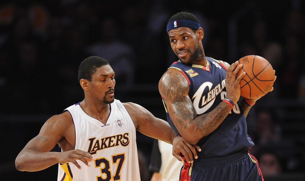Ron Artest et LeBron James