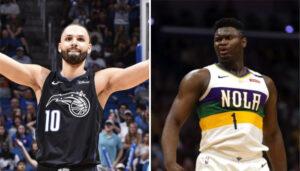 NBA – Evan Fournier s'agace de la supposée prise de masse de Zion