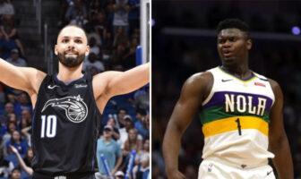 Evan Fournier s'agace de la supposée prise de masse de Zion-NBA
