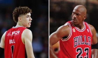 Quand LaVar Ball compare LaMelo à... Michael Jordan-NBA