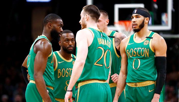 Le 5 de départ des Celtics version 2019/2020